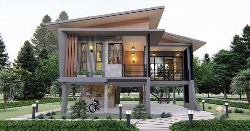 แนวคิดการออกแบบบ้าน