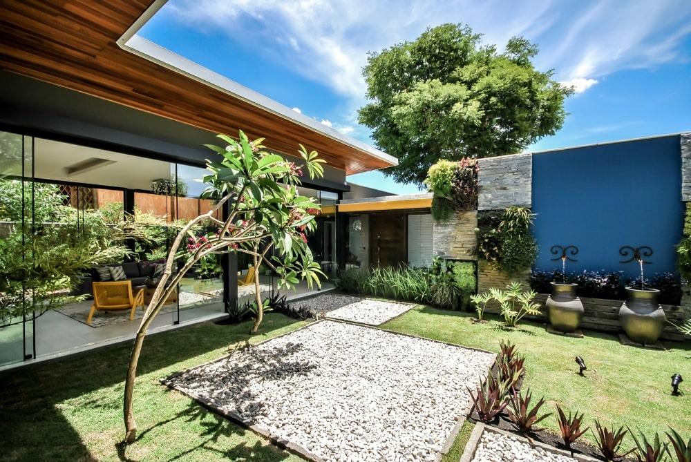 styling ideas shady garden house
