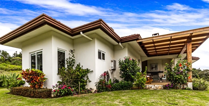 Guidelines for feng shui of a one-story house