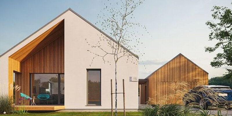 European style wooden house ideas